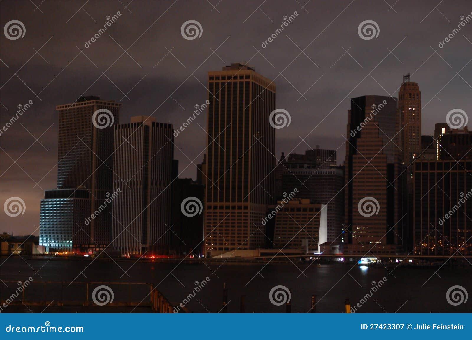 Dunkles Manhattan