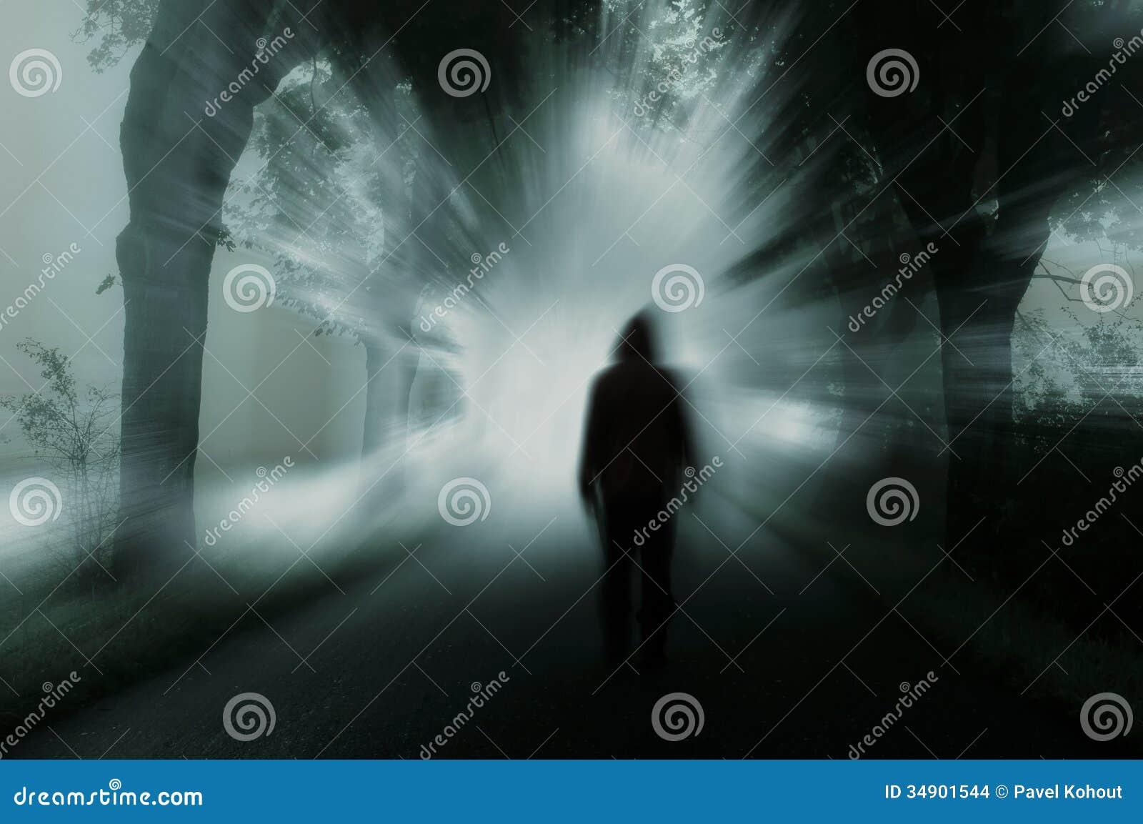 Dunkles Schattenbild