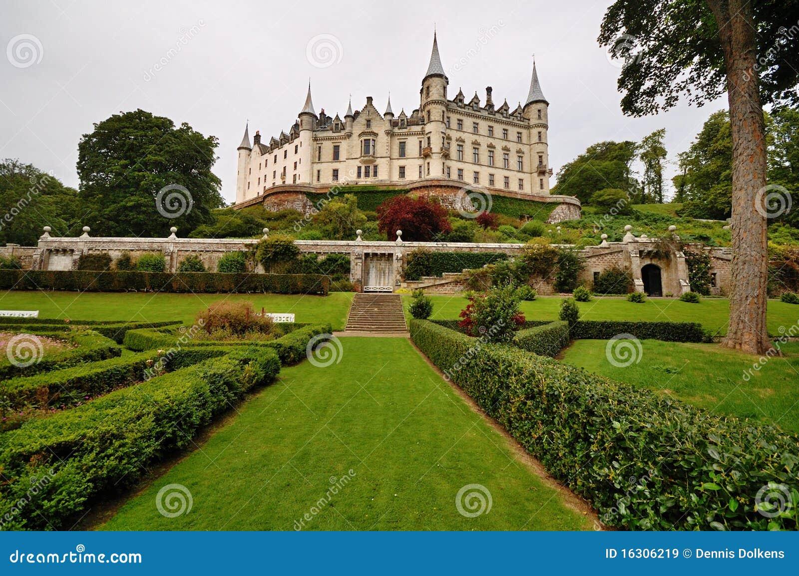 Dunrobin Шотландия замока