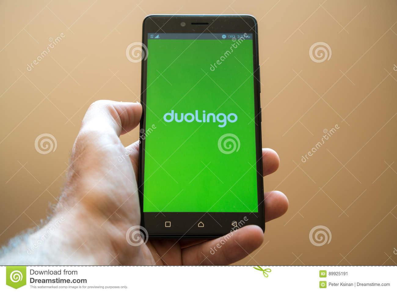 Duolingo editorial photo  Image of communication