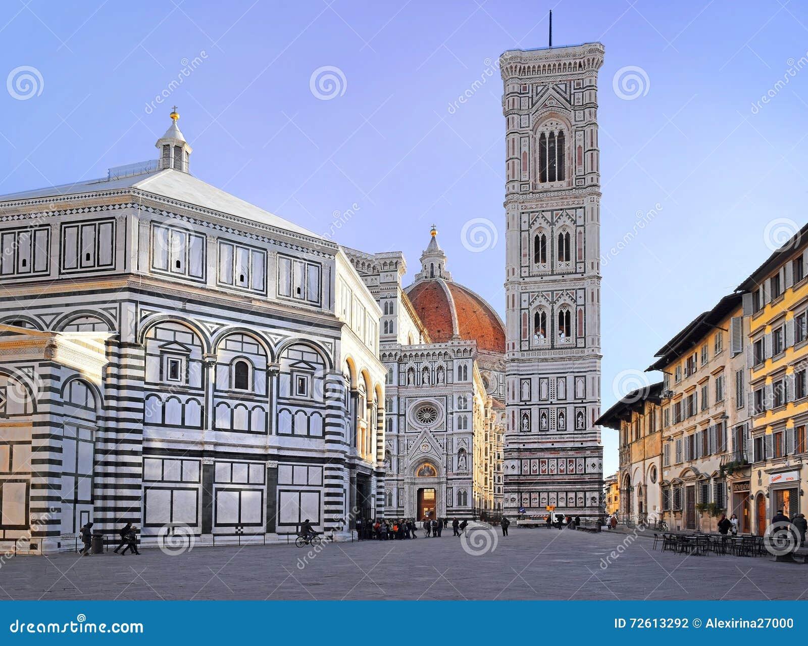 Florence Piazza del Duomo