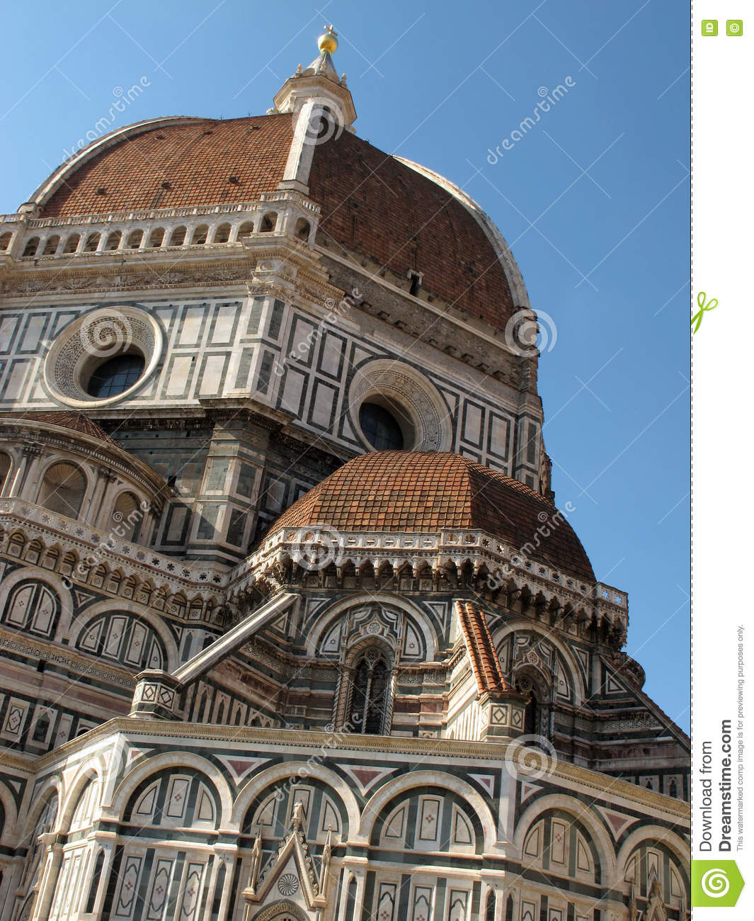 an analysis of the duomo of florence cathedral church The cathedral complex, situated in the piazza del duomo (cathedral square), comprises three buildings: the cathedral itself, the baptistery and giotto's campanile (bell-tower) all three buildings are included within the area of central florence which is designated as a unesco world heritage site.