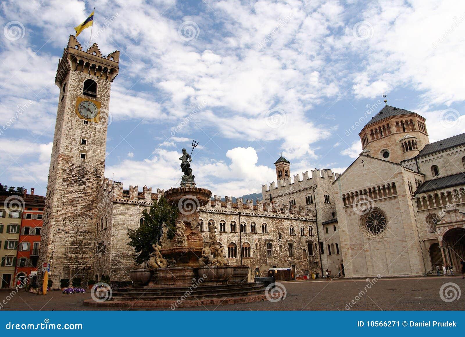 Castellammare del golfo sicily italy stock photo image 48782909 - Duomo Della Piazza Con Il Torre Civica Trento Italia Immagine Stock