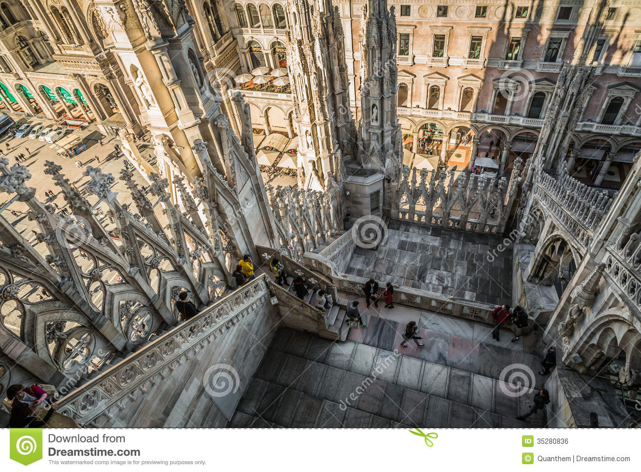 Duomo Di Milano Editorial Photo Image 35280836