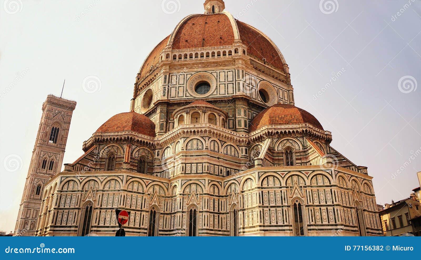 Duomo Santa Maria Del Fiore et campanile, Florence, Italie