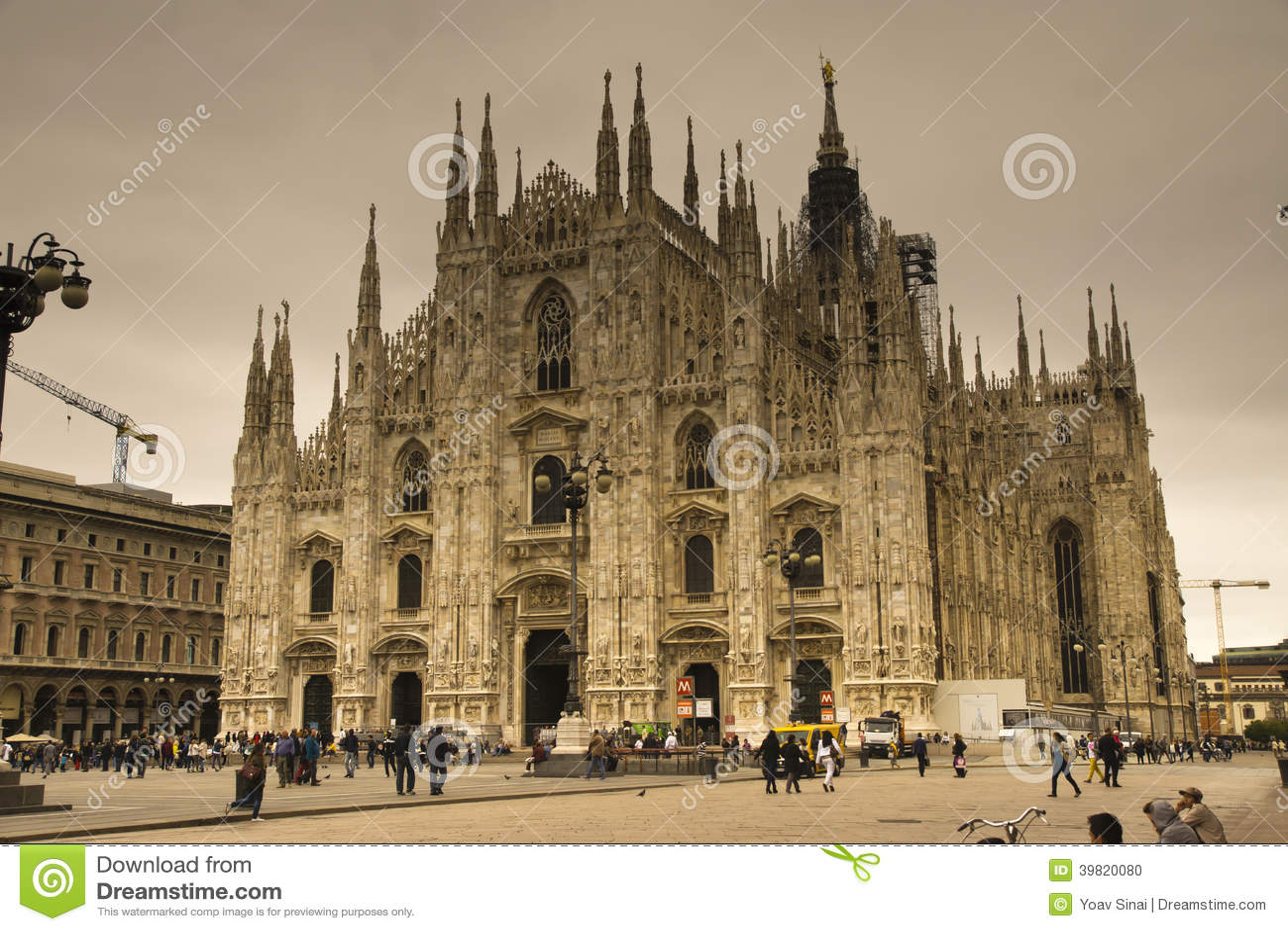 Duomoen Cathdral Milano Italien