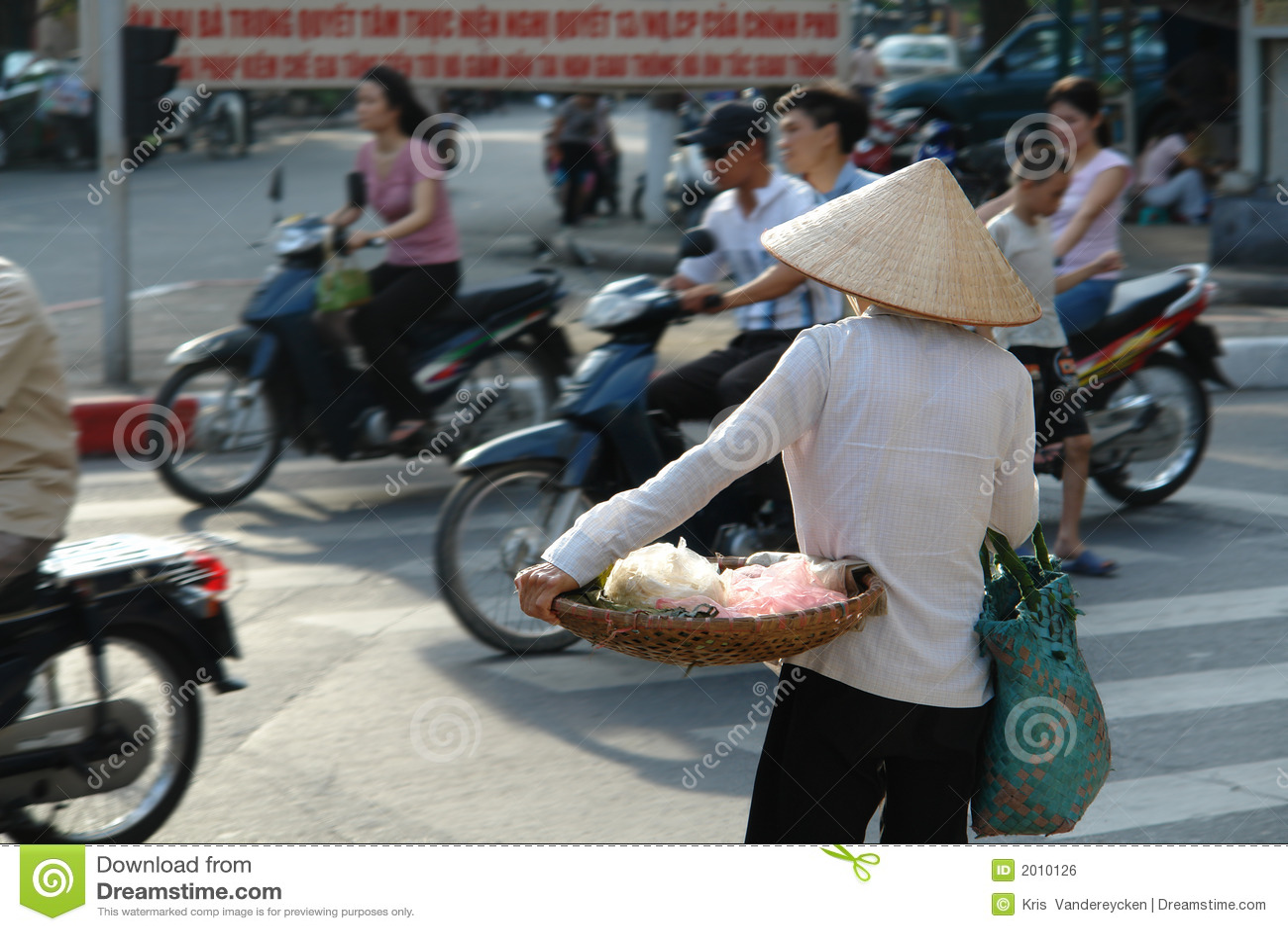 Durée de rue vietnamienne