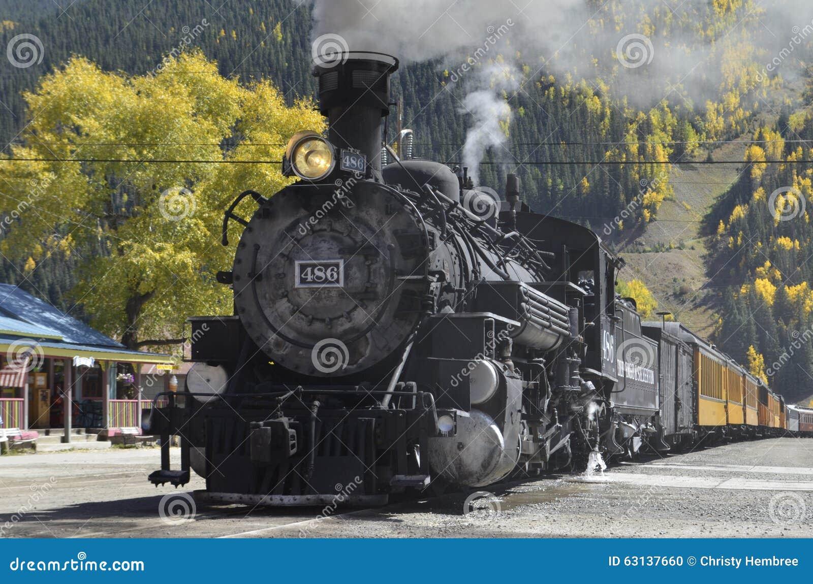 Durango Silverton Narrow Gauge Railroad drev