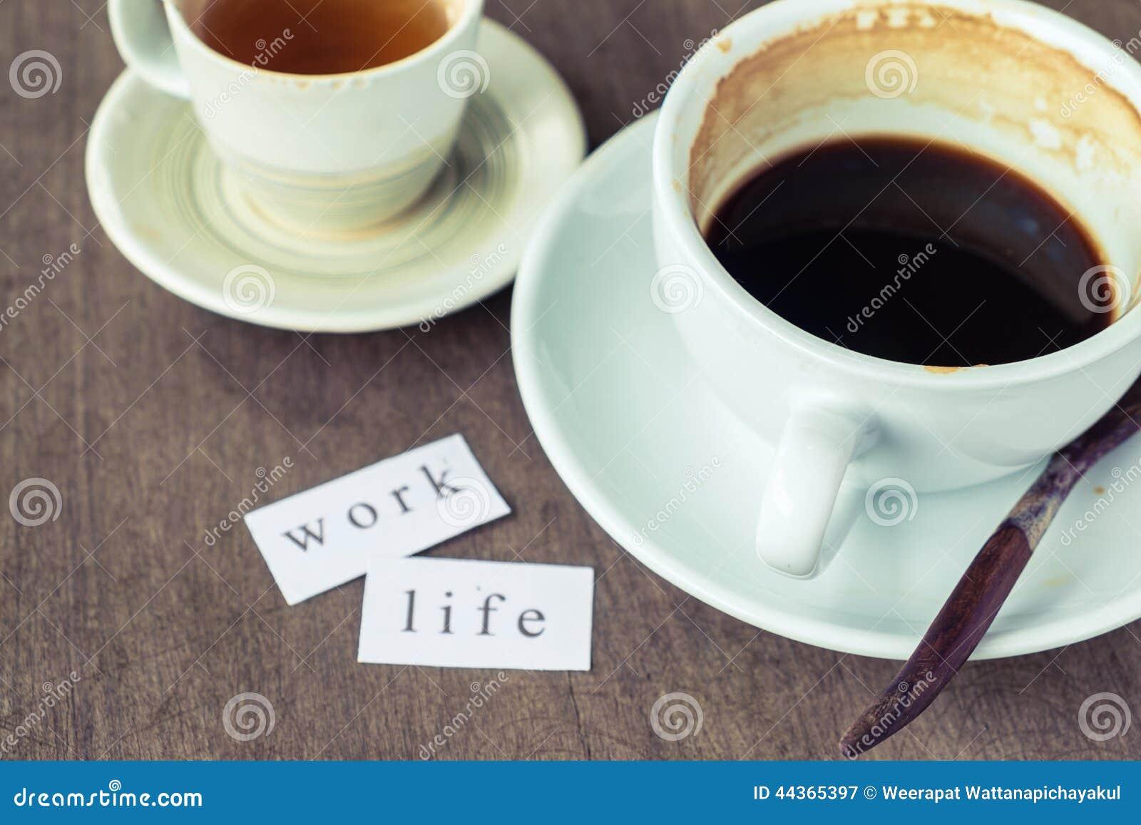 Durante il tempo del caffè