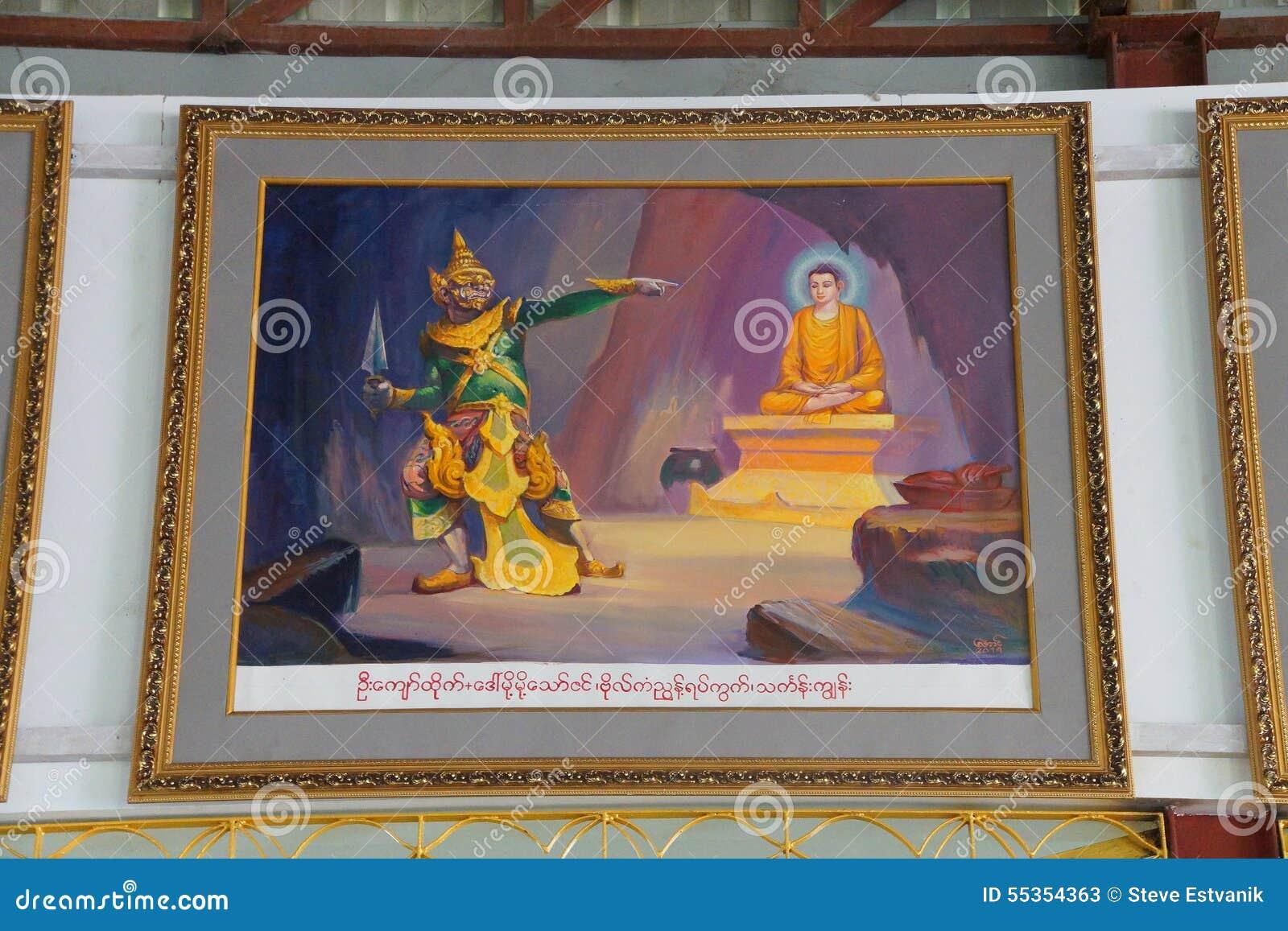 Durata della pittura di Buddha