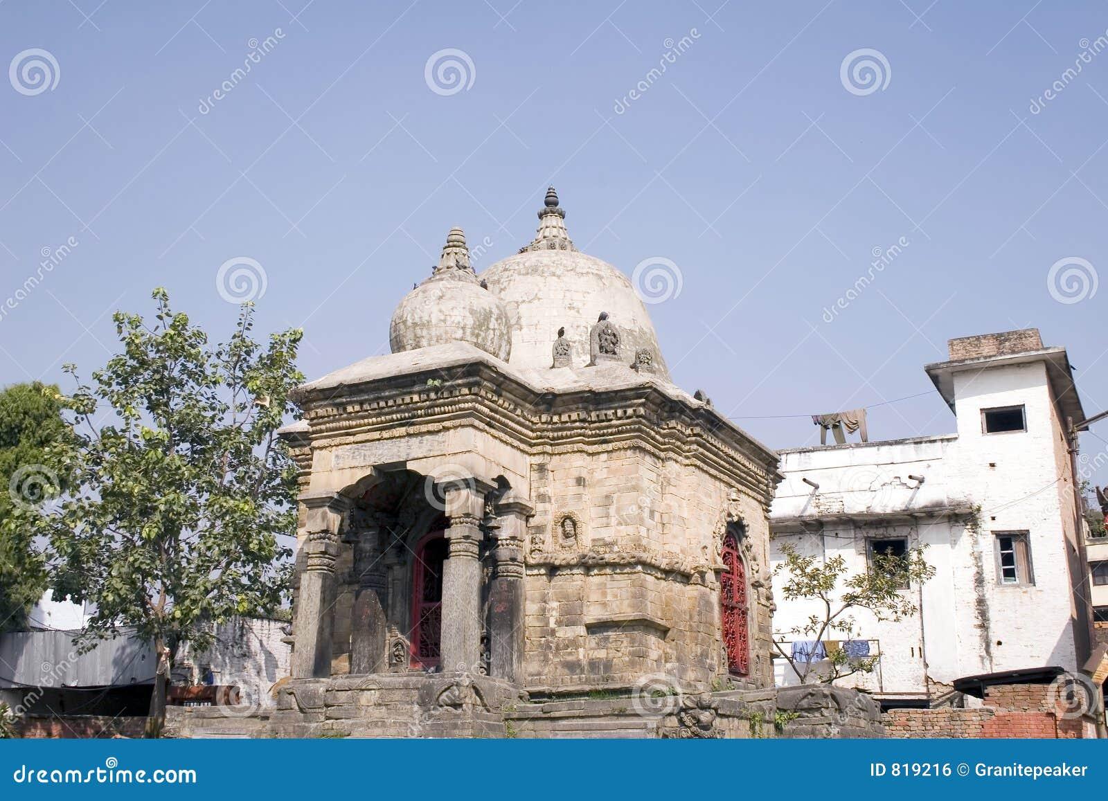 Durbar квадрат kathmandu Непала
