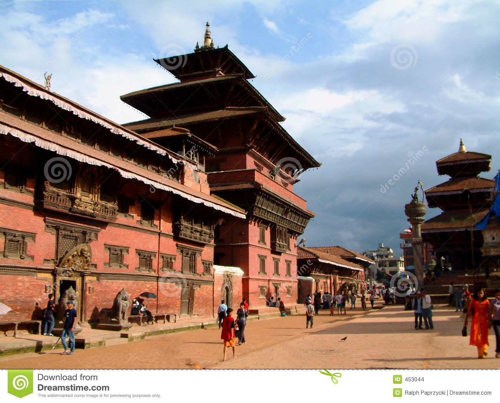 Durbar lalitpur博物馆尼泊尔patan正方形