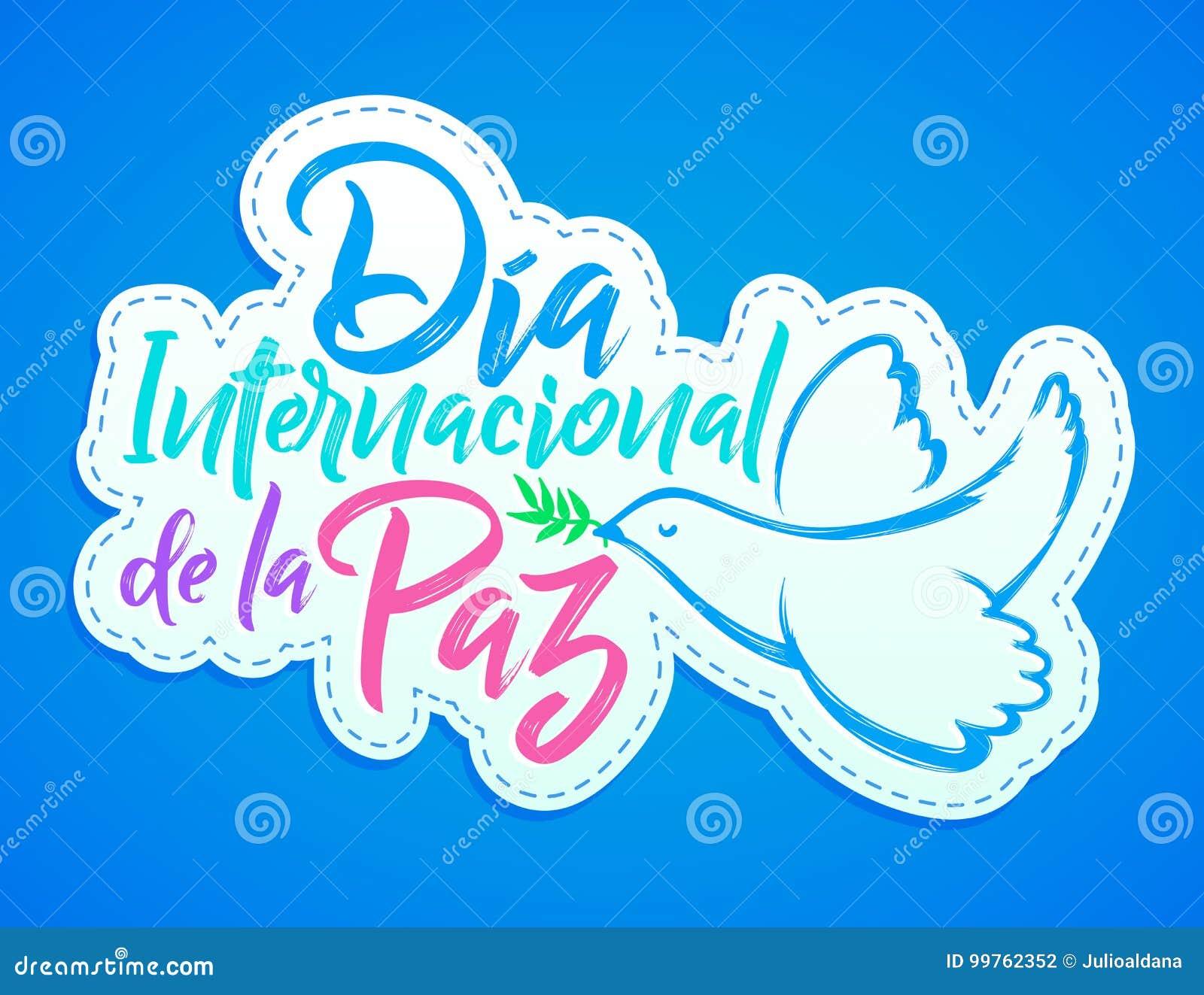 Durchmesser Internacional De La Paz Internationaler Tag Des