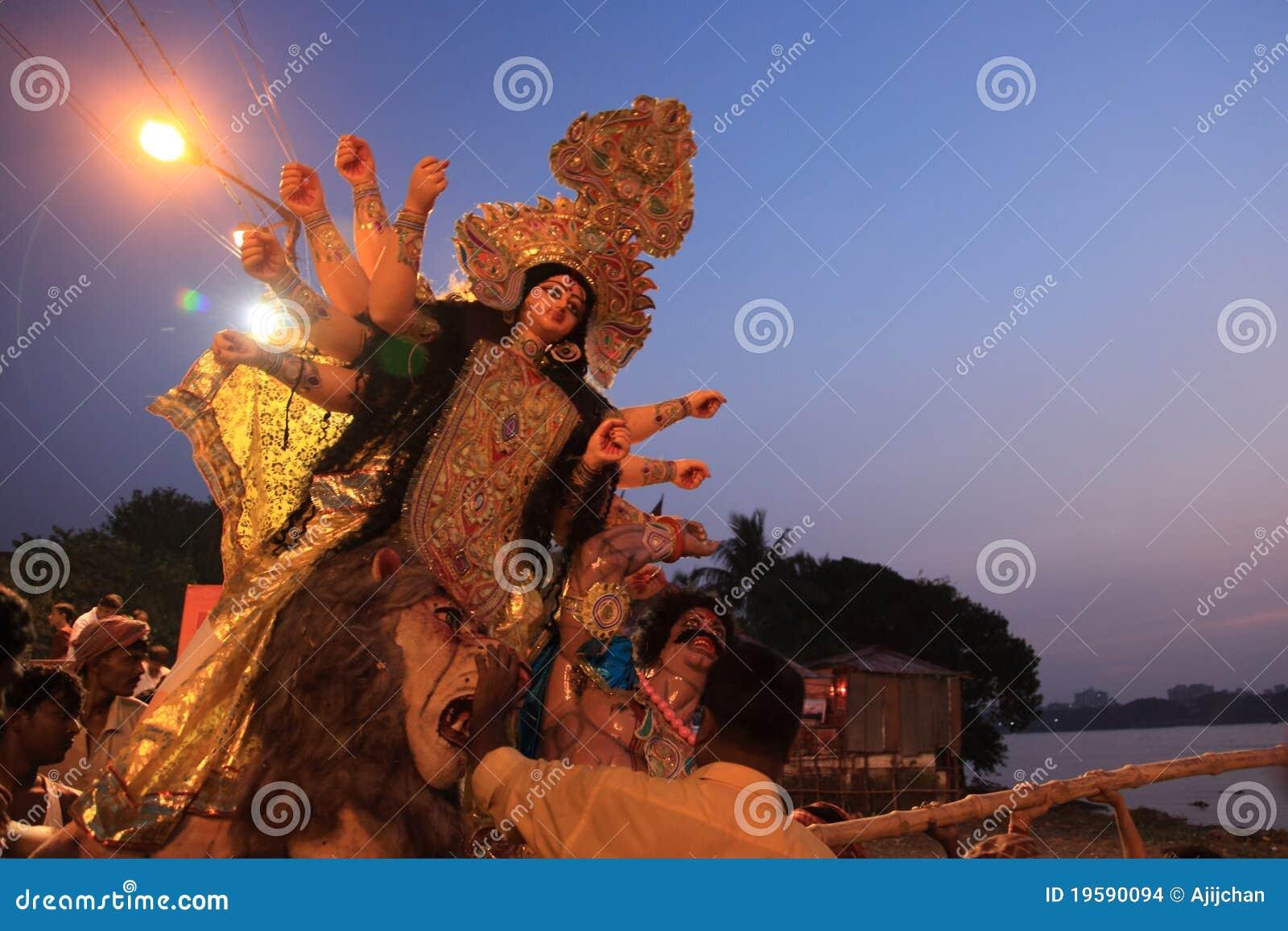 Durga festiwalu puja