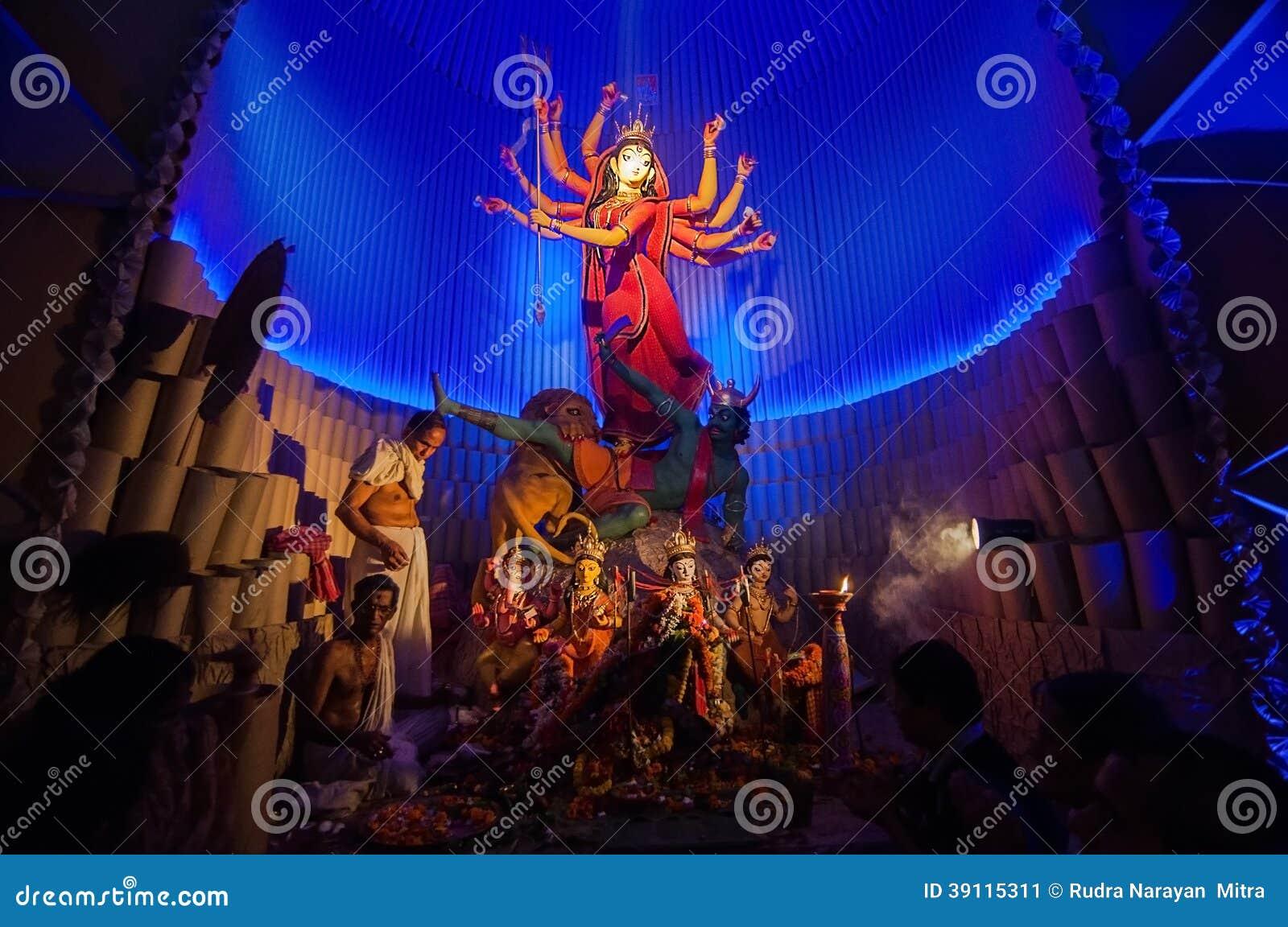 Durga Puja-festival in Kolkata, India