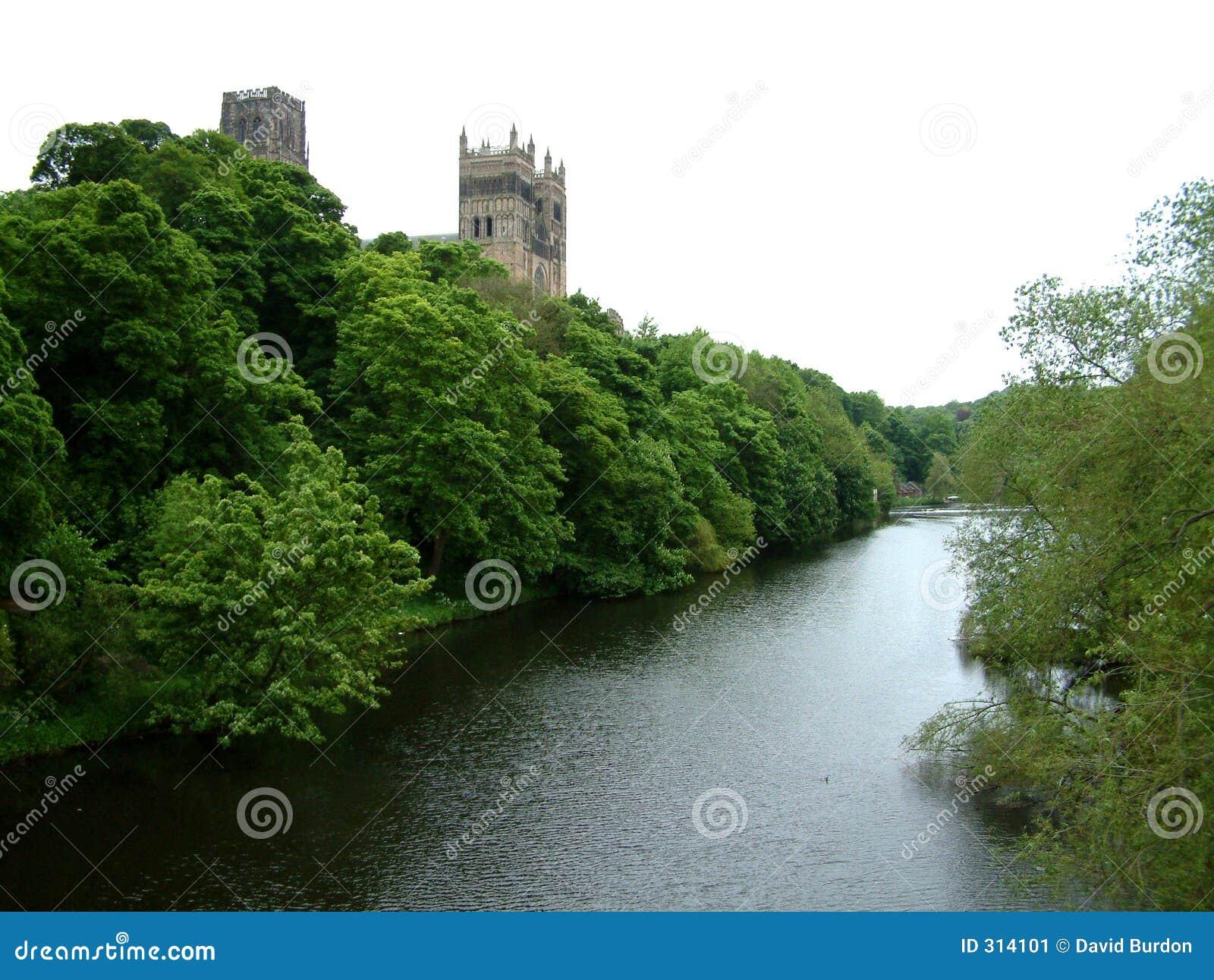 Durham katedralna rzeki