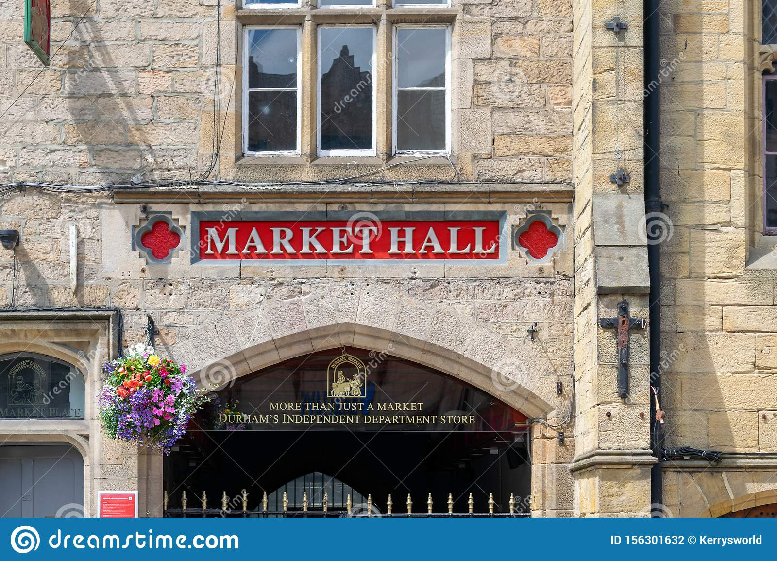 Durham`s Market Hall is the beating heart of Durham, with over 50 independent traders offering a wide range of foods and services