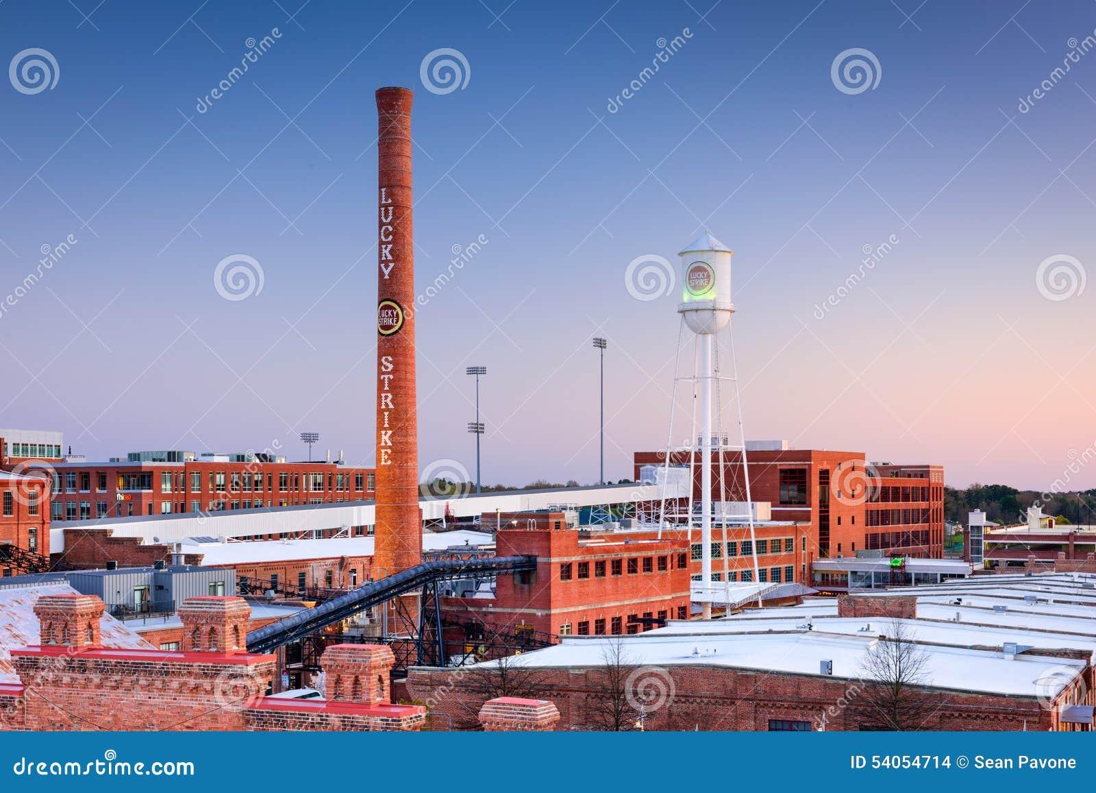 Durham Skyline Editorial Stock Image Image Of Hill Historic 54054714