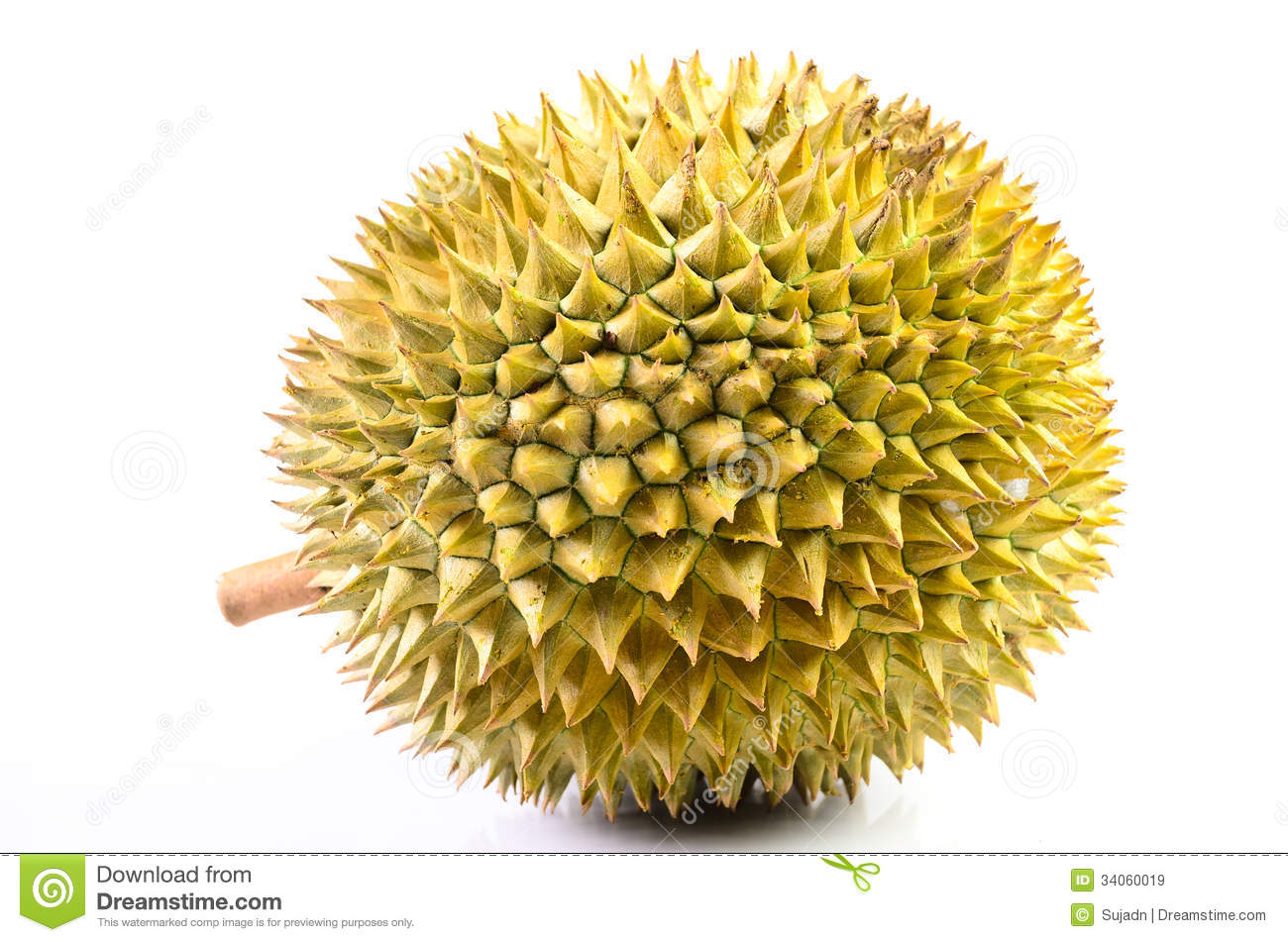 Durian Fruit Basket On A White Royalty Free Stock Images ...