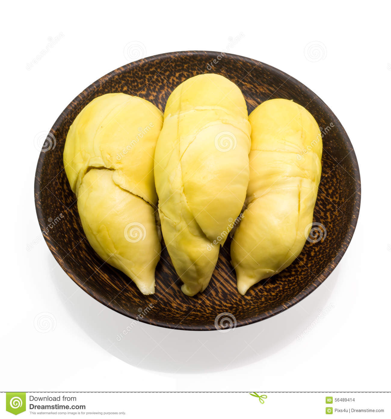 Durian thaïlandais, fruit tropical