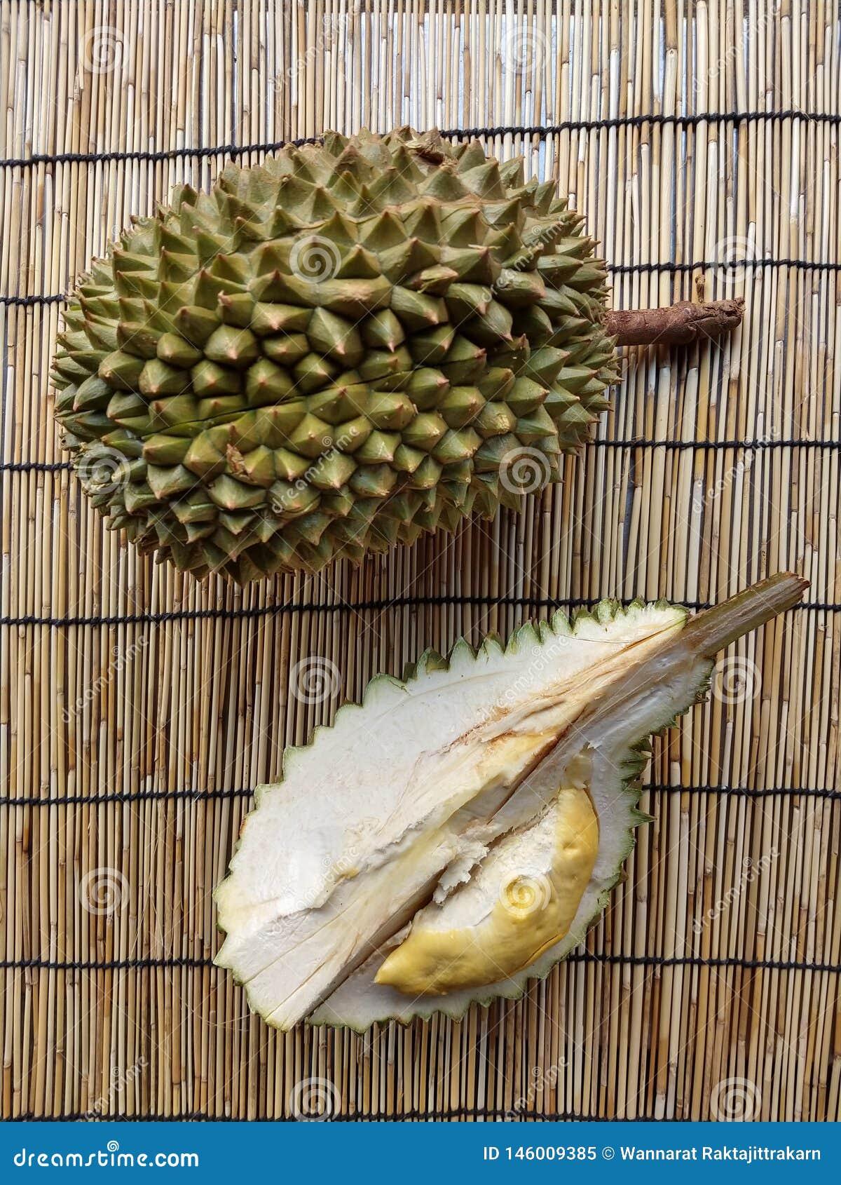Durians de koning van fruit