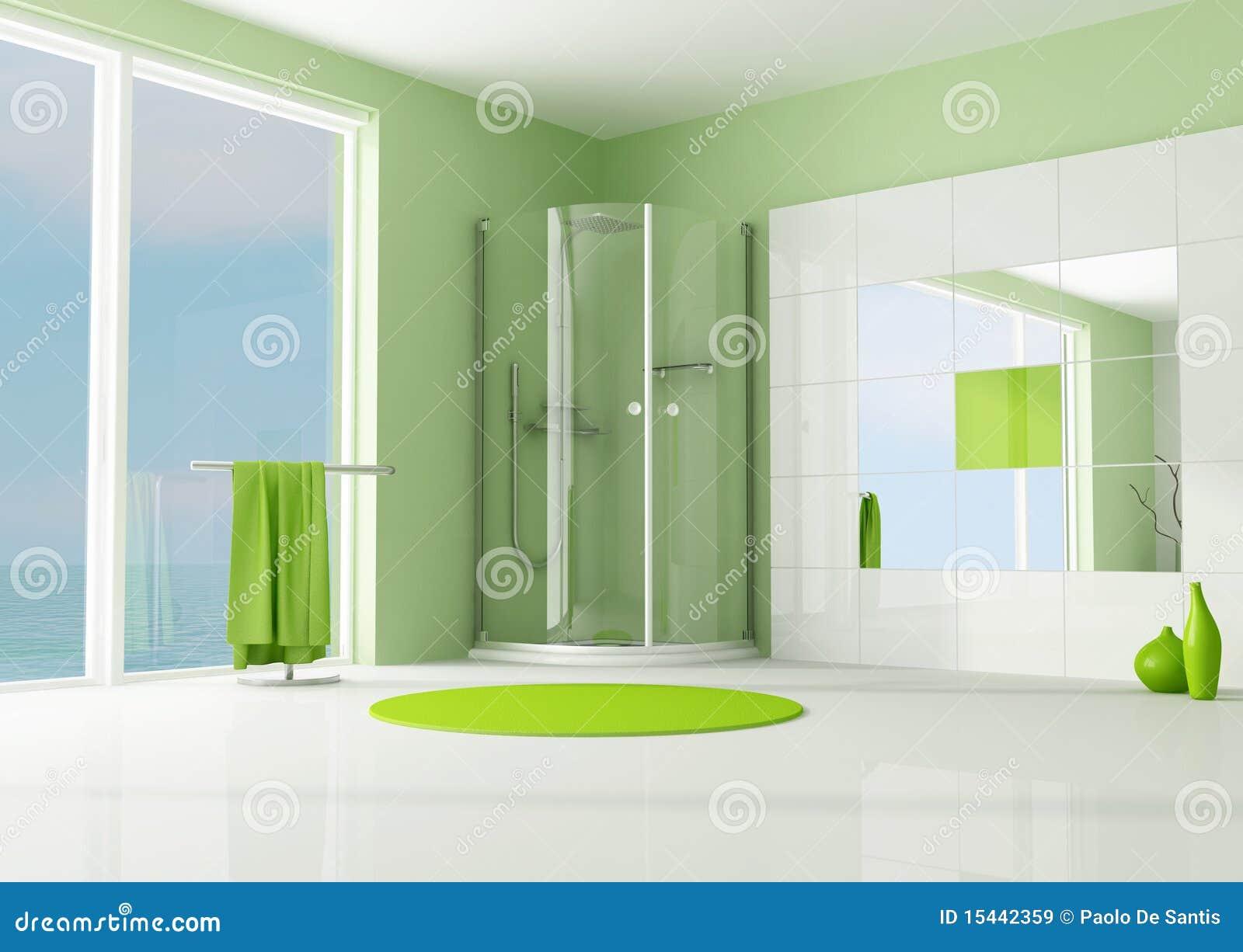 Dusch för badrumkabingreen