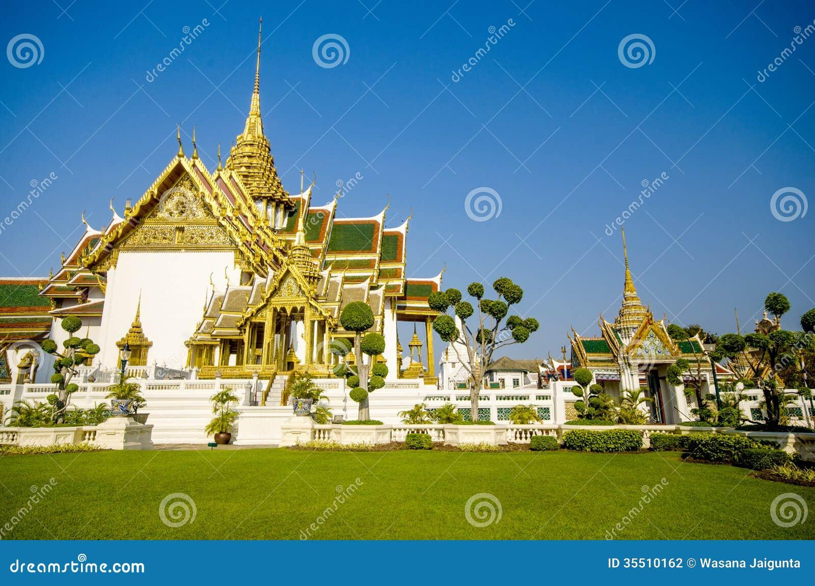 Dusit Maha Prasat Throne Hall σε Wat Phra Kaew, Μπανγκόκ, Ταϊλάνδη