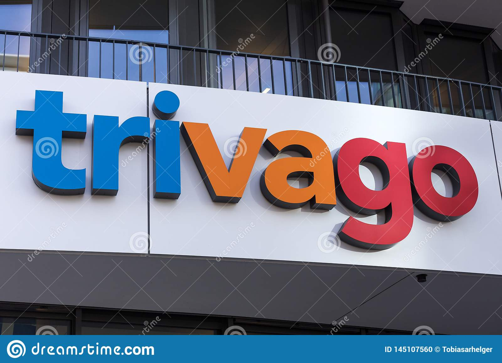 Trivago  sign in dusseldorf germany