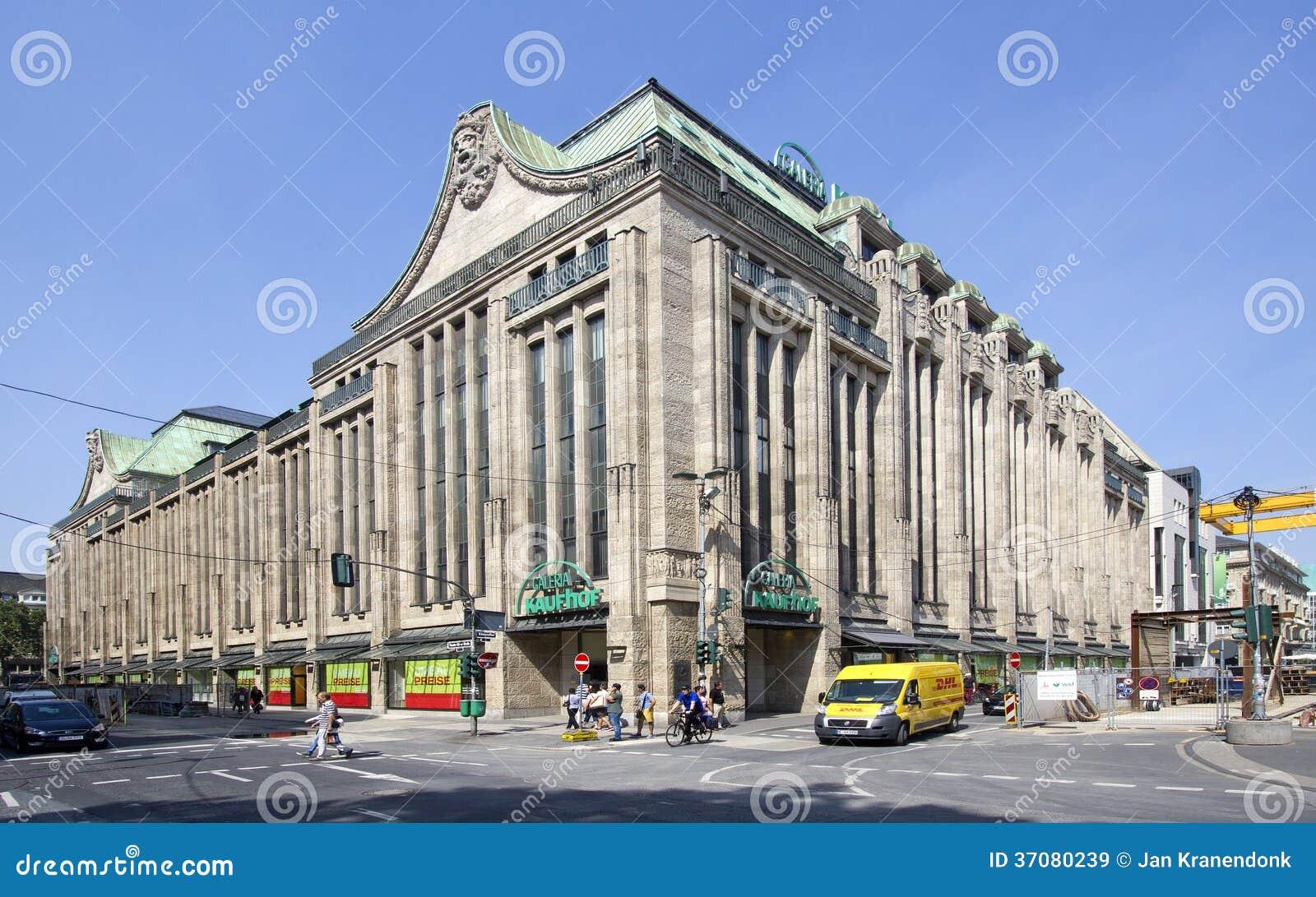 Download Dusseldorf Wydziałowy Sklep Obraz Stock Editorial - Obraz złożonej z city, dziejowy: 37080239