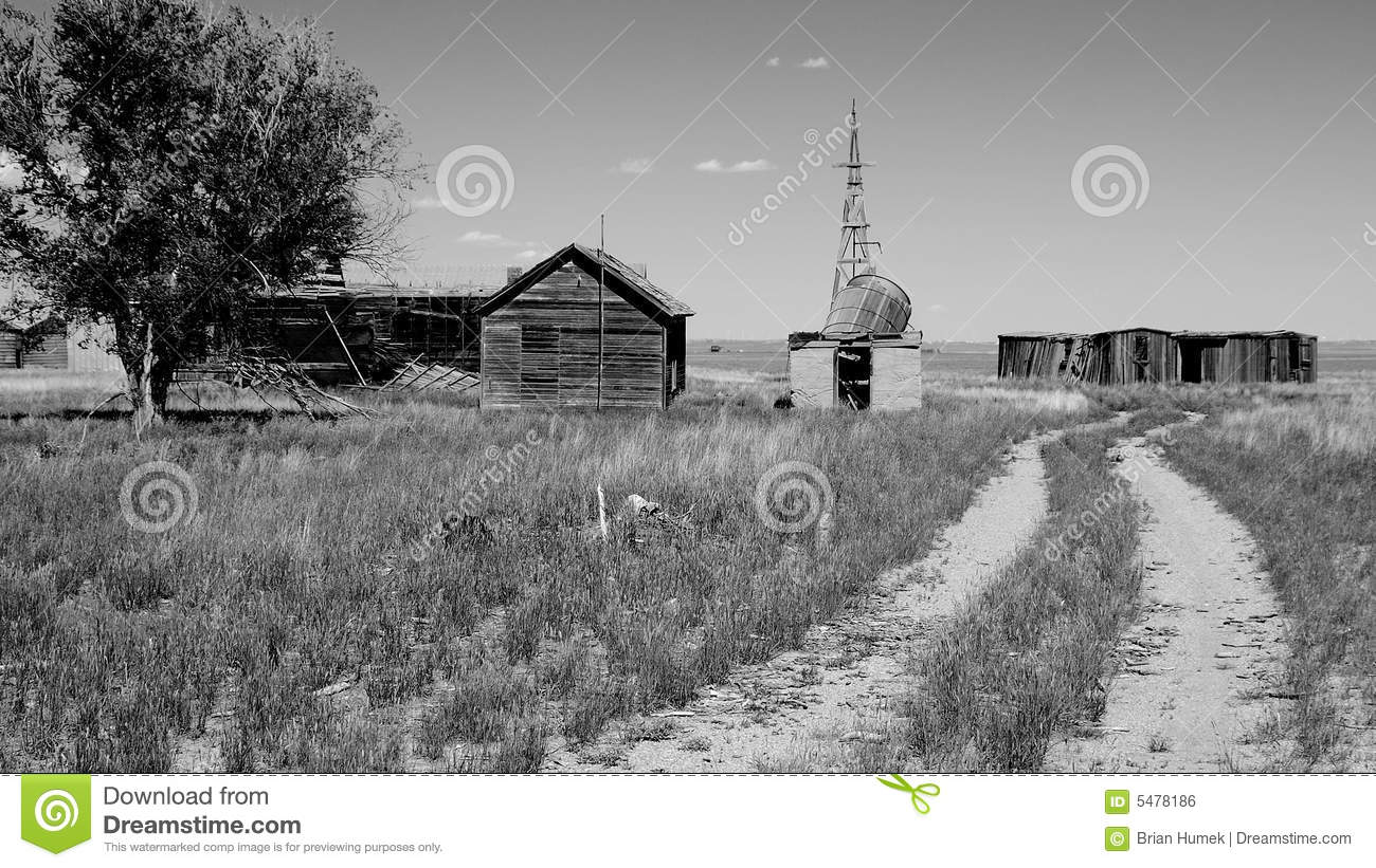 Dust bowl era homestead royalty free stock image image for Free homestead