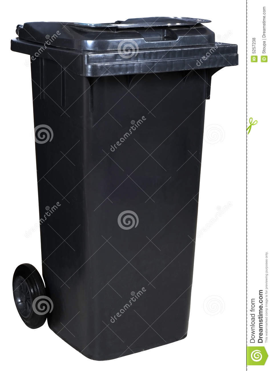 Dustbin Royalty Free Stock Photos Image 5257238