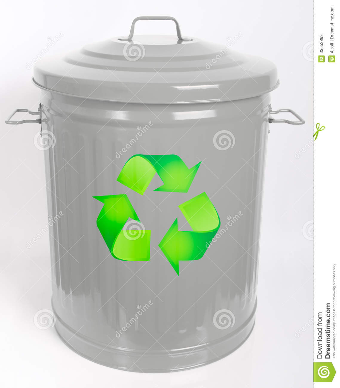 Dustbin Recycle Stock Photos Image 33553863