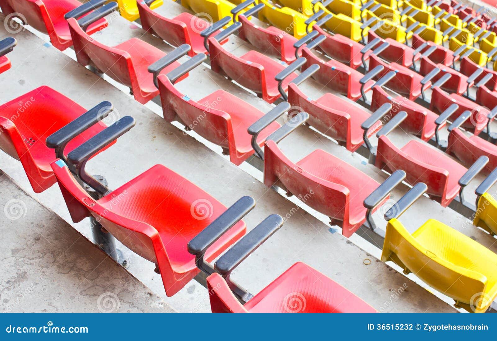 Dusty Stadium Seat.