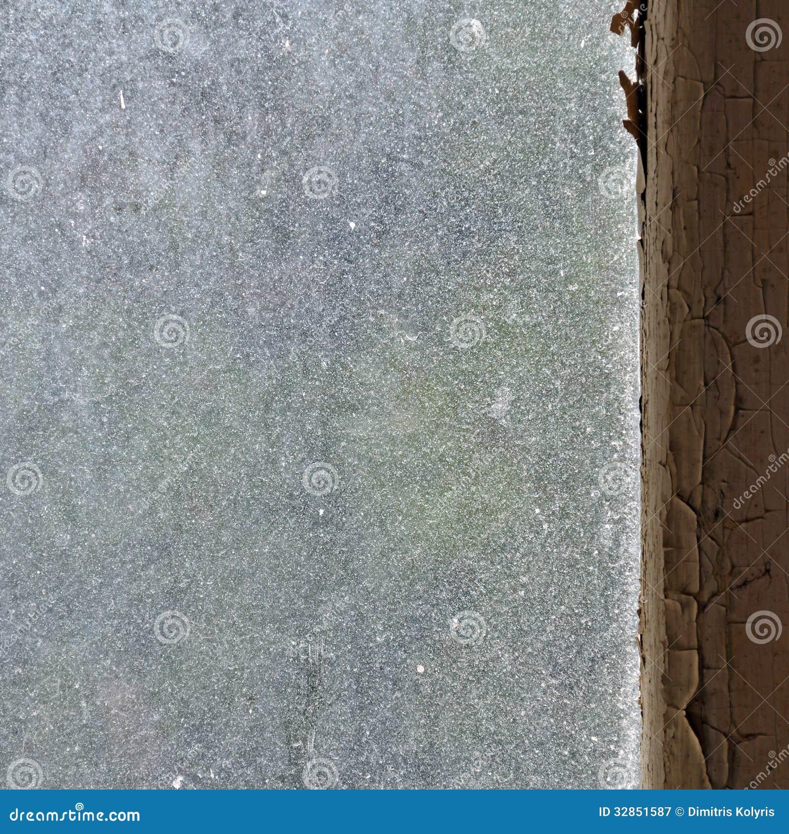 Dusty Window Glass Stock Image Image Of Flaking Minimal