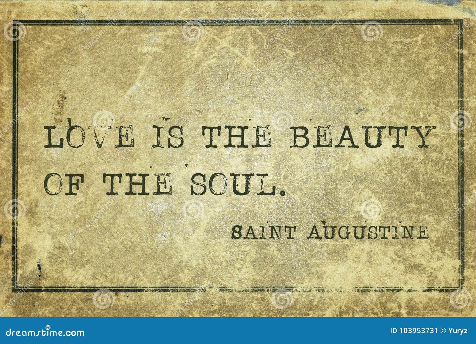Duszy piękna święty Augustine