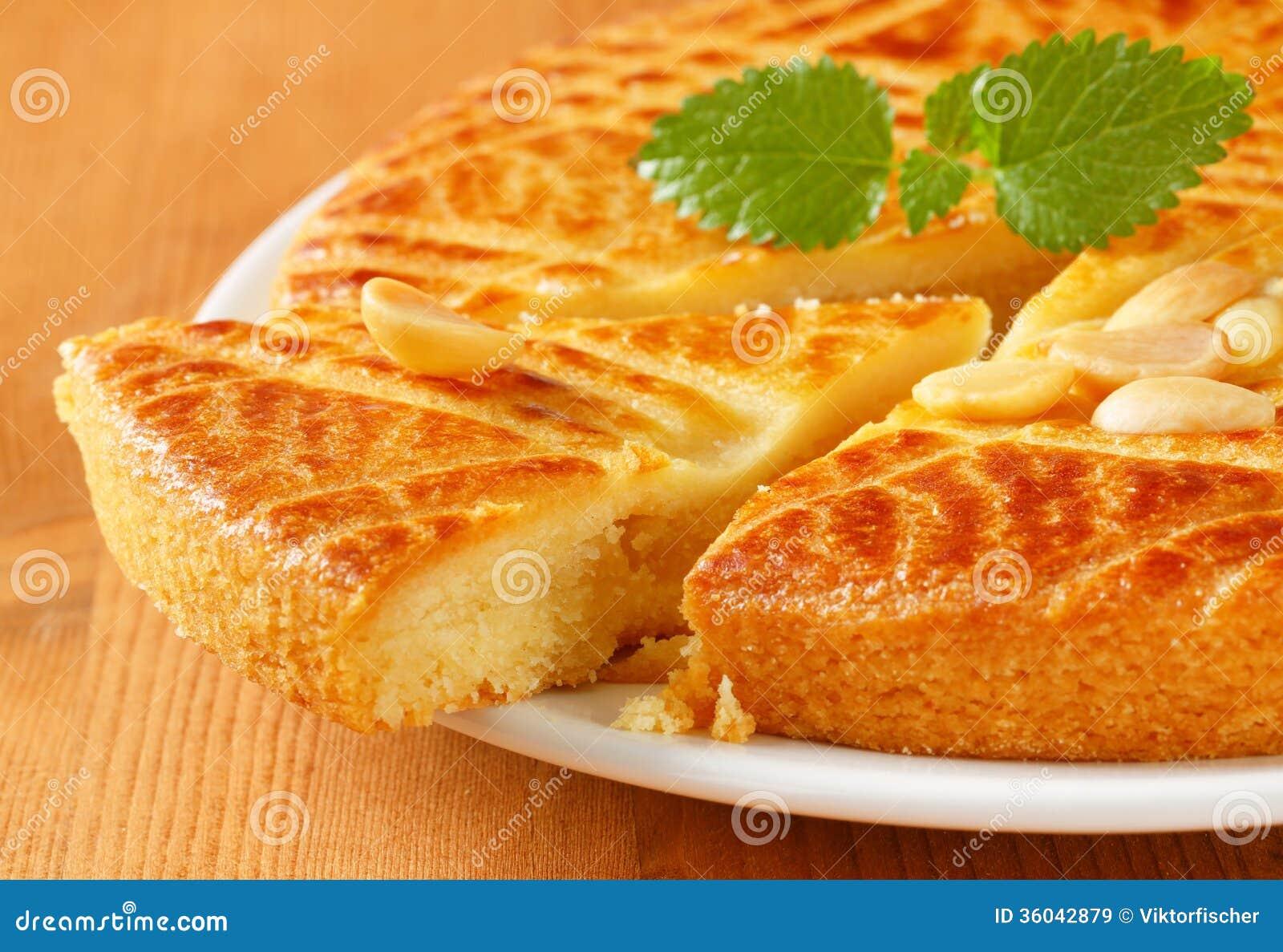 Dutch Almond Butter Cake