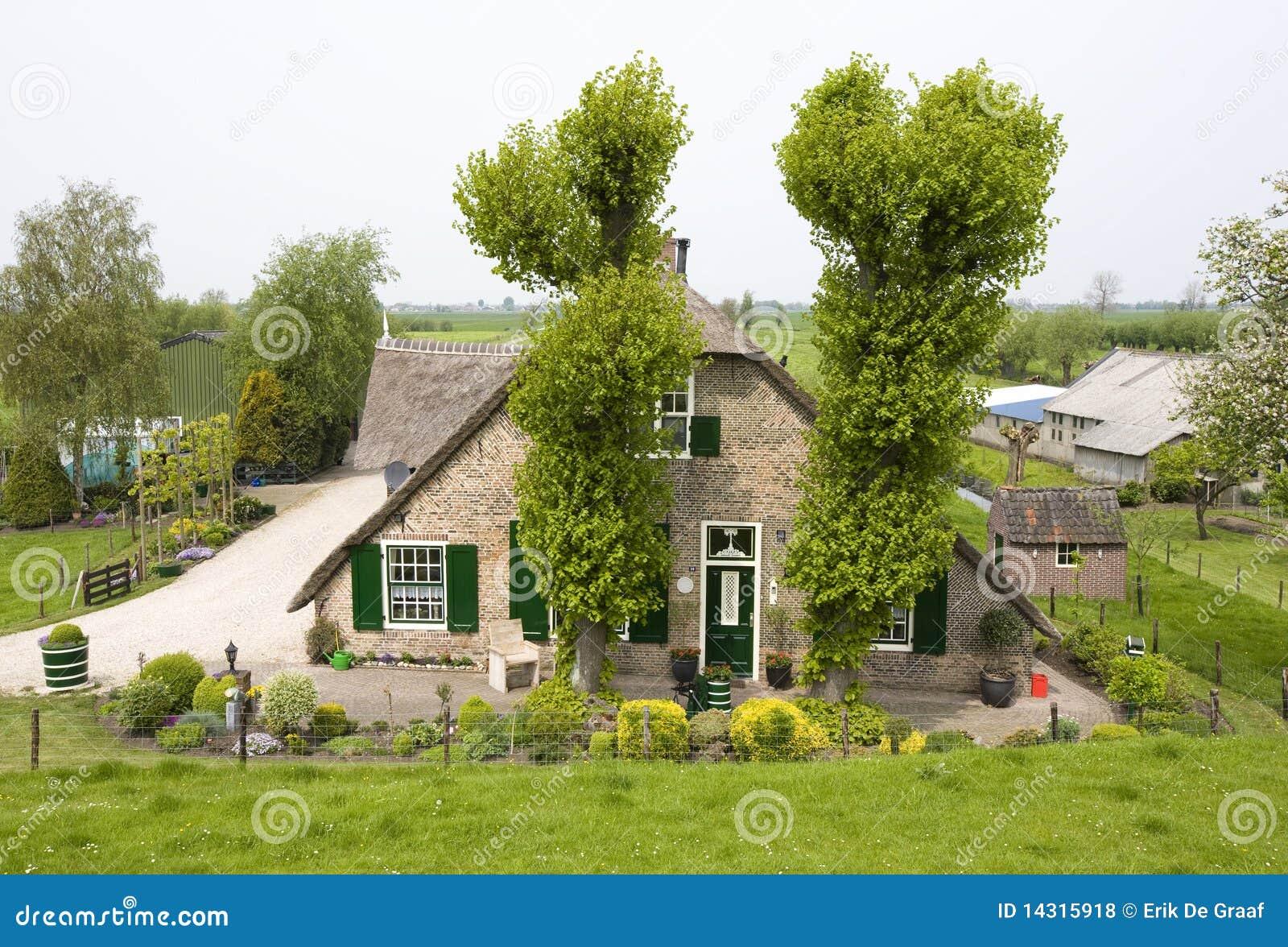 Dutch farm house royalty free stock photos image 14315918 for Farm house netherlands