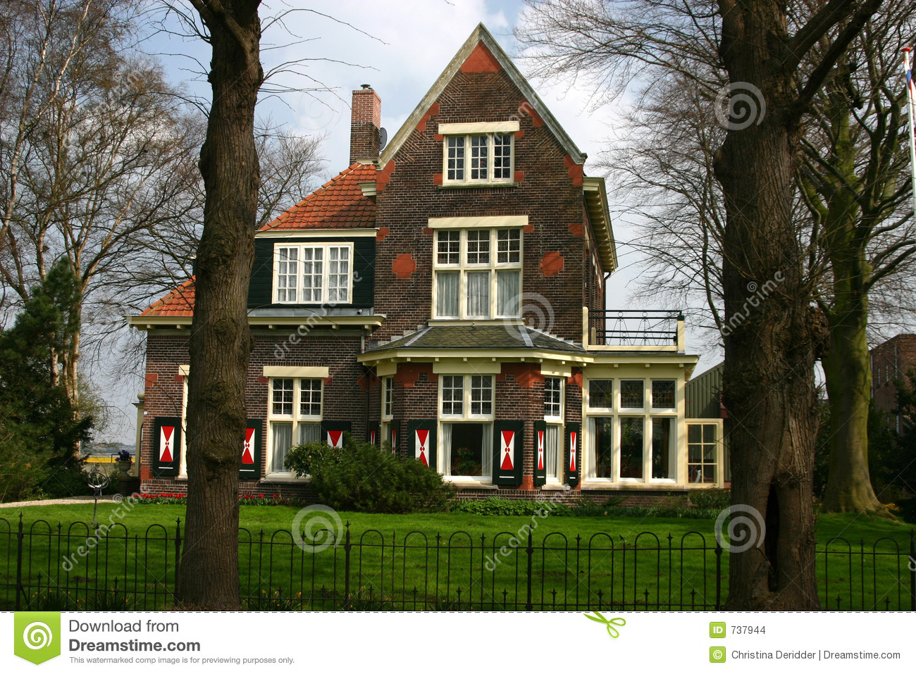 Dutch farm house stock images image 737944 for Farm house netherlands