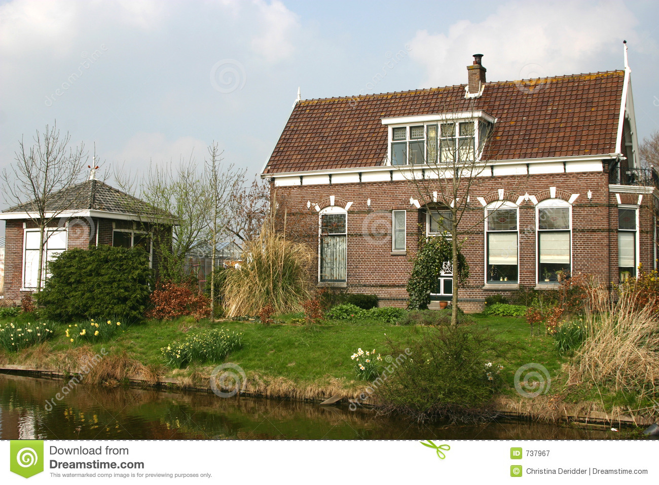 Dutch farm house royalty free stock photography image for Farm house netherlands
