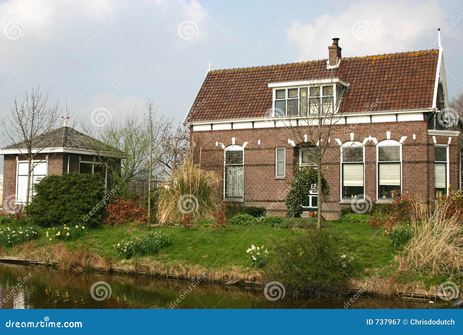 Dutch farm house royalty free stock photography image for Farm house netherlands
