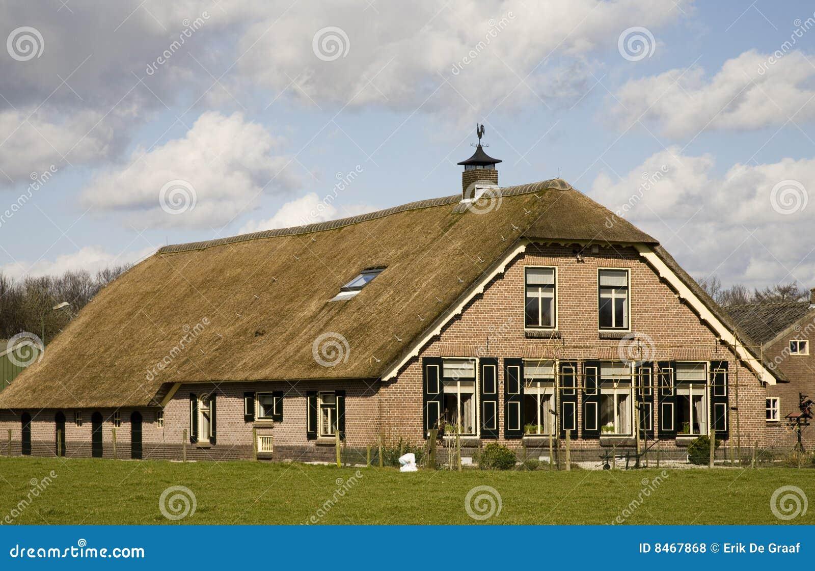 Dutch farm house royalty free stock photos image 8467868 for Farm house netherlands