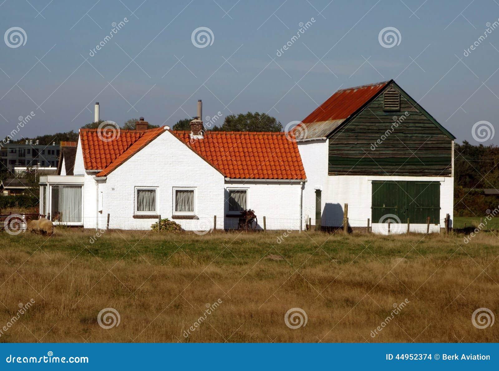 Dutch farm house stock photo image 44952374 for Farm house netherlands
