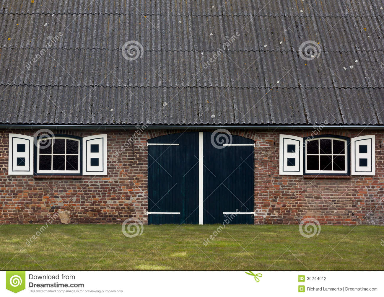 Dutch Farmhouse Stock graphy Image