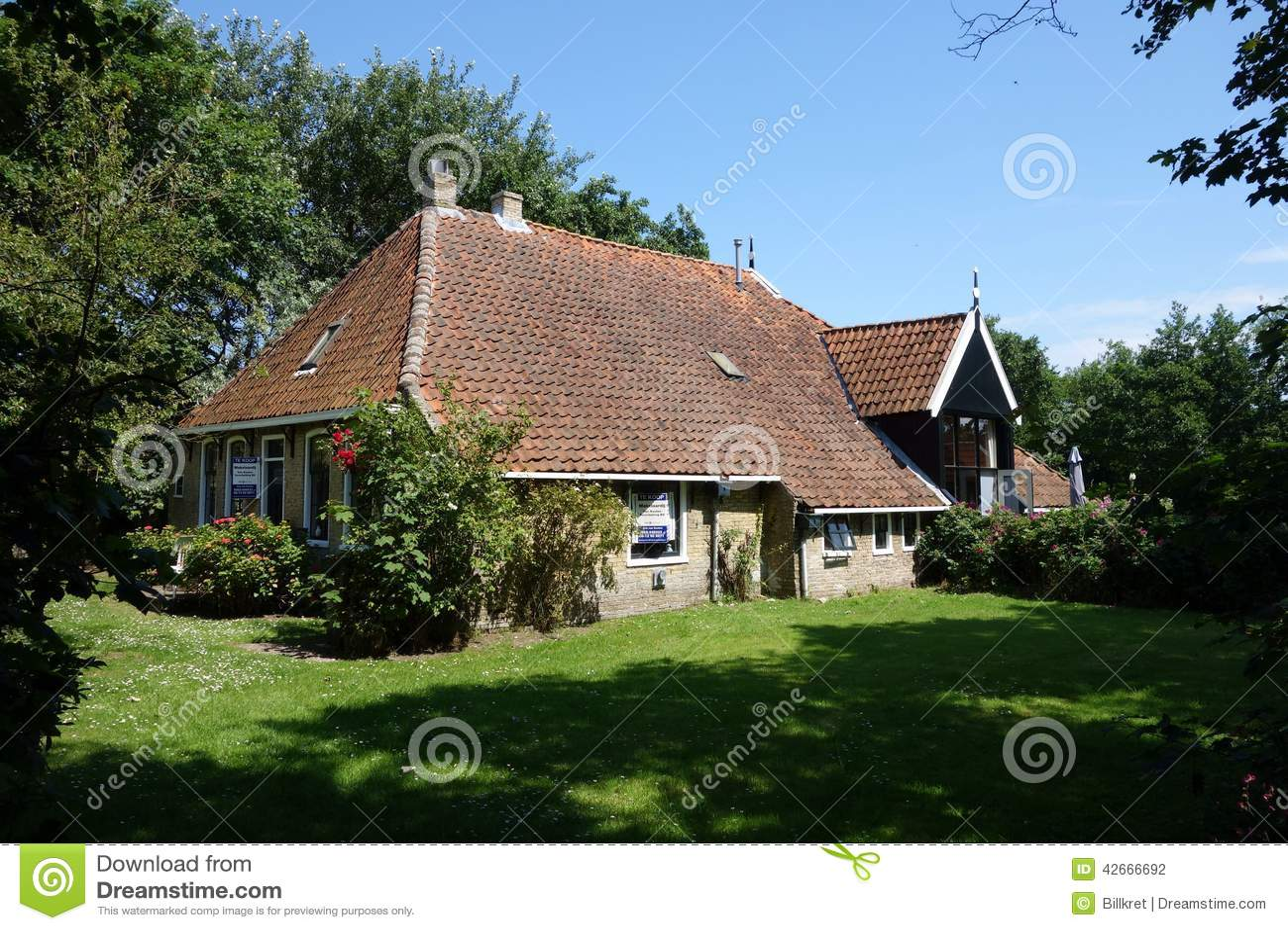 Dutch farmhouse editorial photography image 42666692 for Farm house netherlands