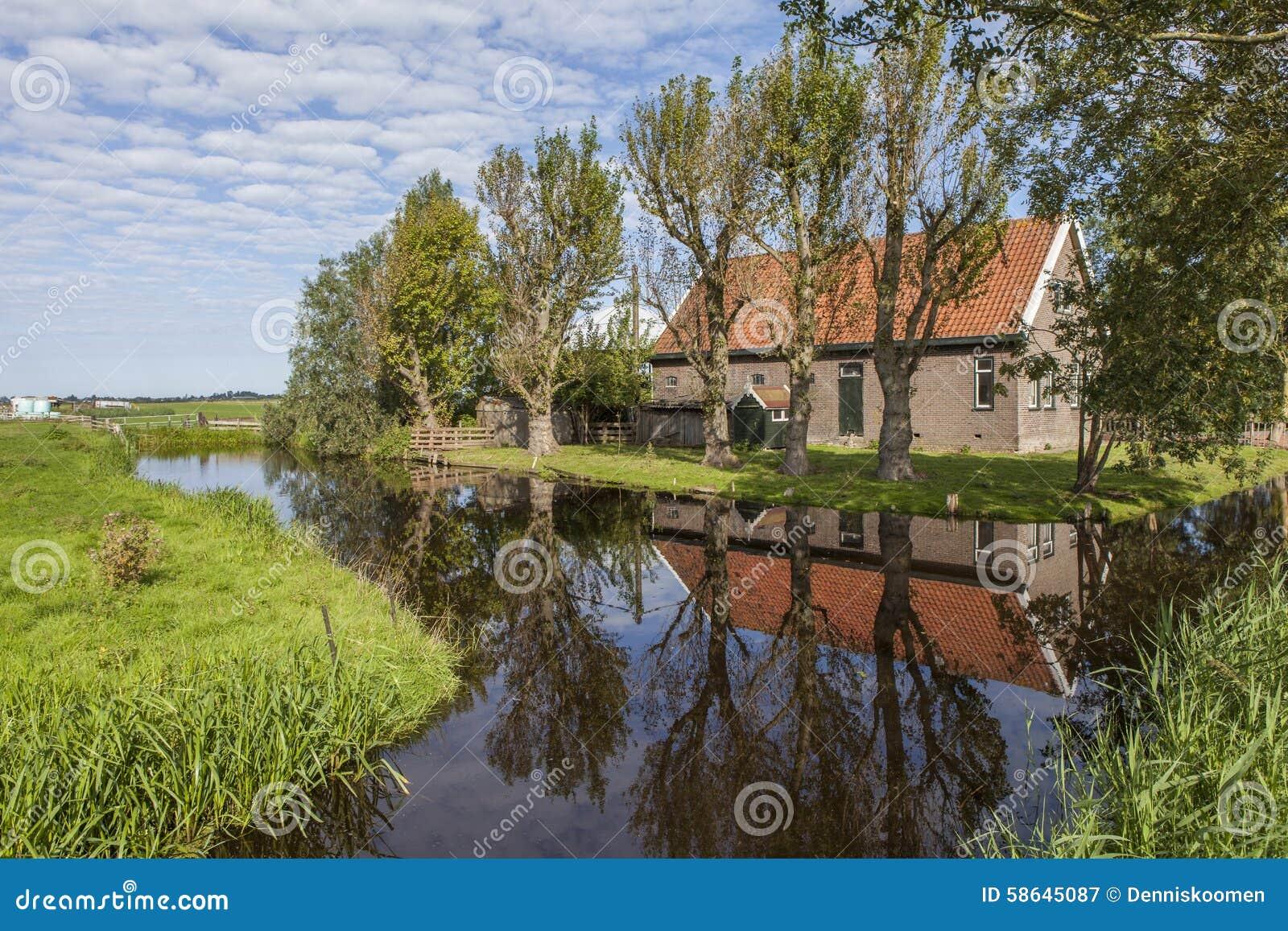 Dutch farmhouse stock photo image 58645087 for Farm house netherlands