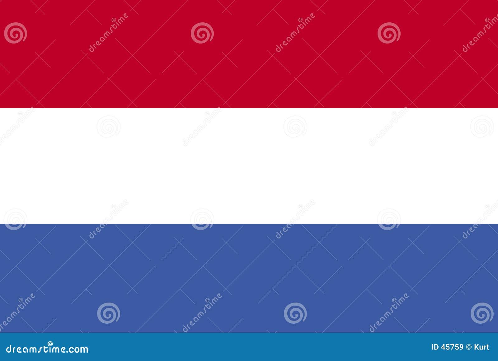 Dutch flagę
