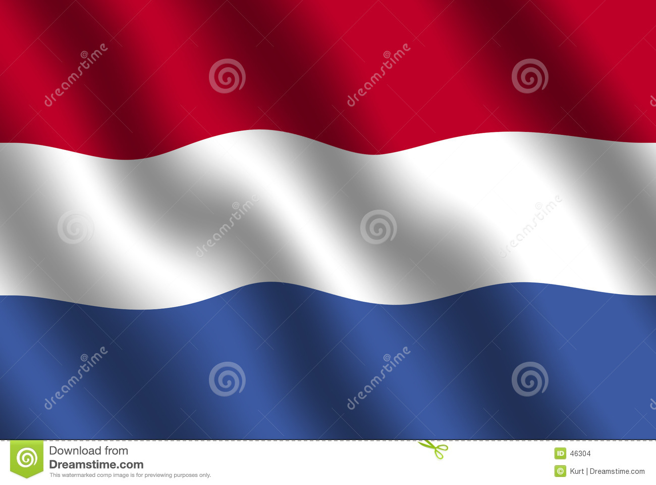 Dutch flagę