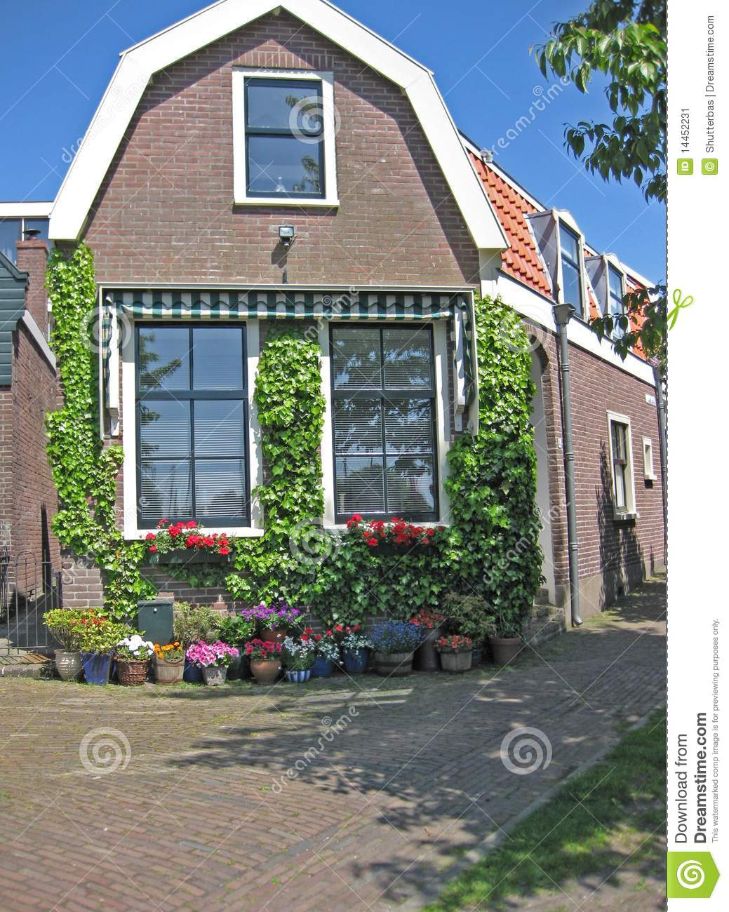 Dutch house stock image image 14452231 for Dutch house