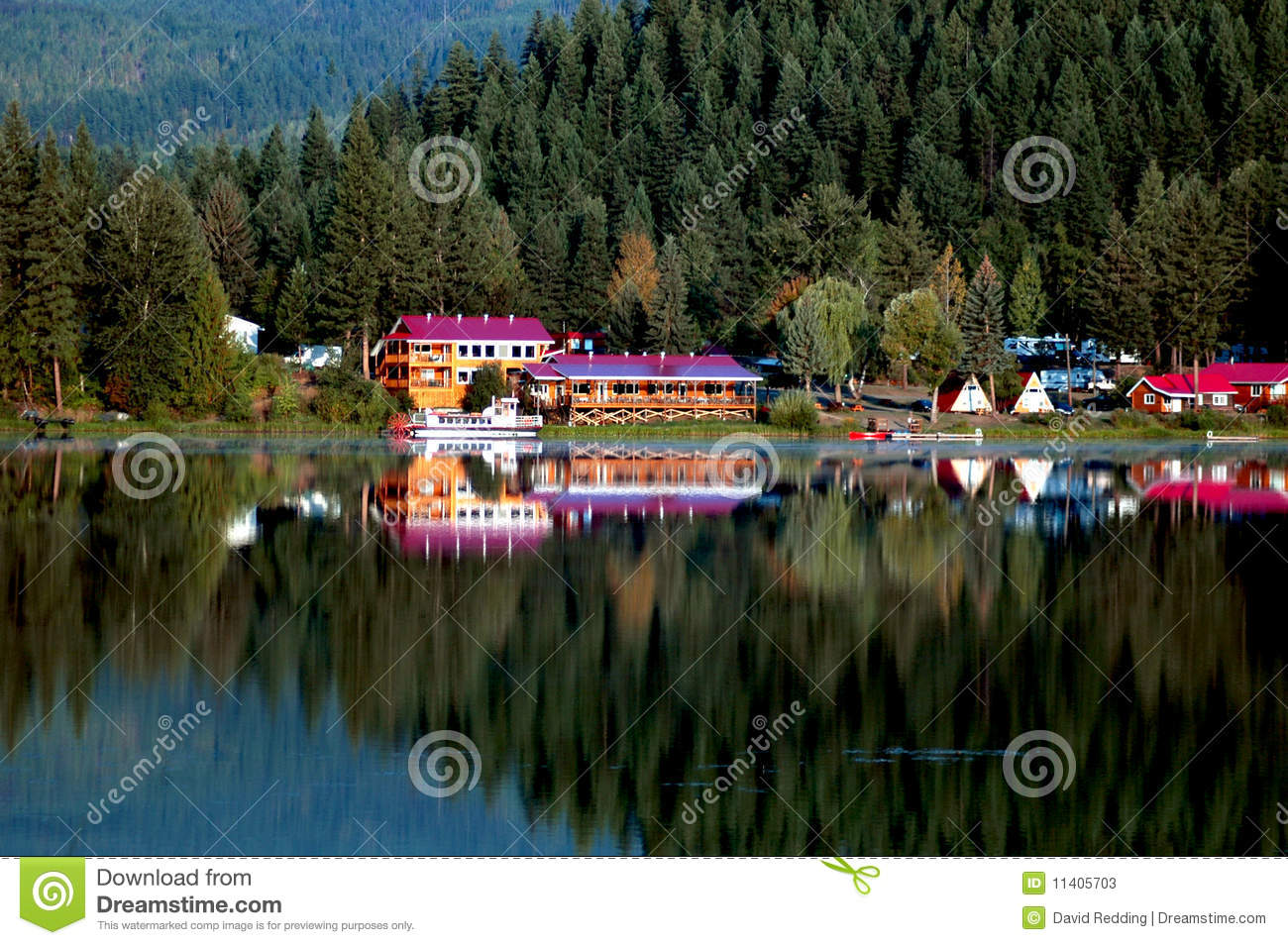 Dutch Lake Clearwater BC Stock Photos Image 11405703