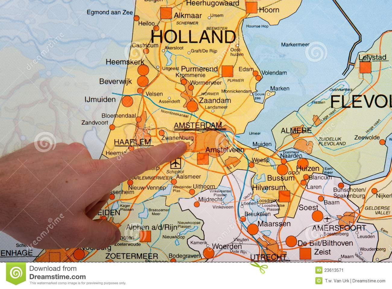 Flushing Netherlands Map Picture Ideas References